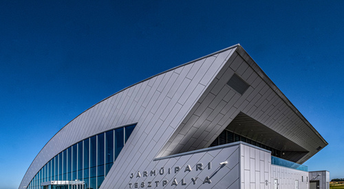Kingspan Architectural Facades Systems project - APZ DriDesign Hungary Image