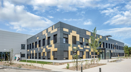 Kingspan Architectural Facades Systems Project - Saint Priest FR Image