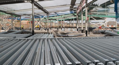 Kingspan Structural Steel Solutions Multideck SAINT MARKS PRIMARY SCHOOL HAMILTON UK Image