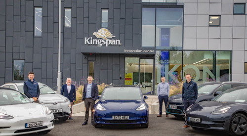 EV Cars at Kingspan IKON Innvotion Centre
