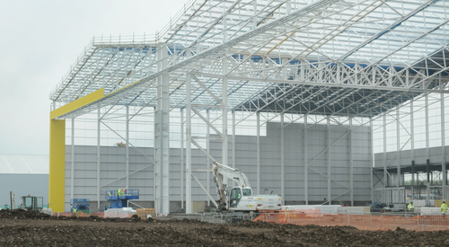 Kingspan Structural Steel Solutions Multibeam BIRMINGHAM AIRPORT UK Image