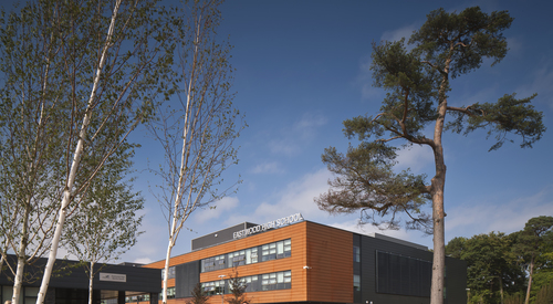 Kingspan Architectural Facades Systems Interlocking Plank Project - EASTWOOD SCHOOL UK Image