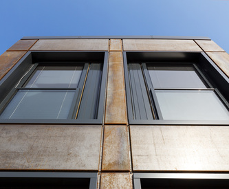 Designwall Inspiration, Rainscreen facade, Suspended ventilated facade, Benchmark Kingspan