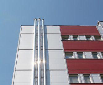 Tonak, KS1000 AWP, rekonstrukce boletických panelů, stěnové panely, zateplení fasády, Kingspan izolační panely