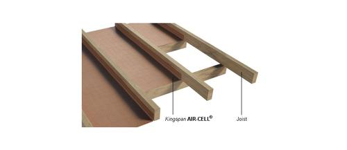 Air-Cell Permifloor suspended framed floor render