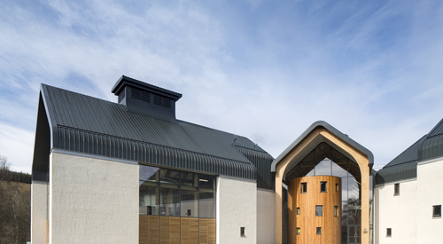 Kingspan Insulated Panel Systems DALMUNACH DISTILLERY CARRON UK Image