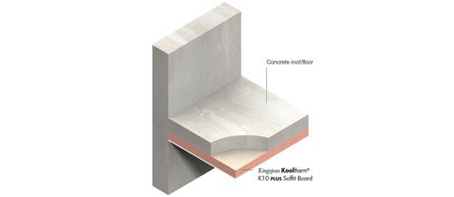 Kooltherm K10 PLUS insulation R-value render