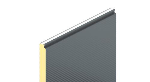 KS1000 AWPflex, micro profil, stěnový panel, zateplení fasády, izolační panel