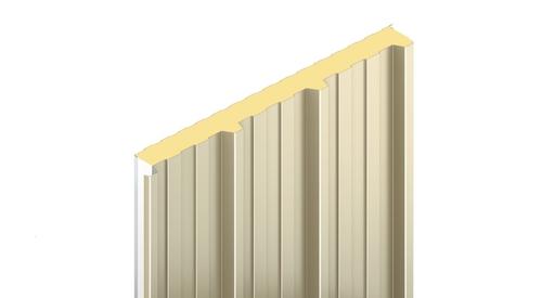 KS1000 RW, trapézový profil, stěnový panely, fasádní panely, zateplení fasády, izolační panel