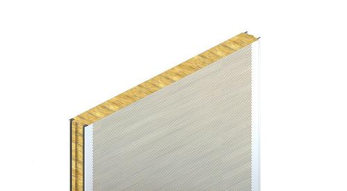akustický panel, KS1150 FA, stěnový panely, fasádní panely, zateplení fasády, izolační panel