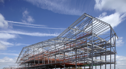 Kingspan Structural Steel Solutions Multibeam SILVERSTONE F1 PIT COMPLEX UK Image