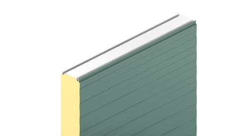 KS1150 NF, KS1150 TF, eurobox profil, stěnový panely, fasádní panely, zateplení fasády, izolační panel