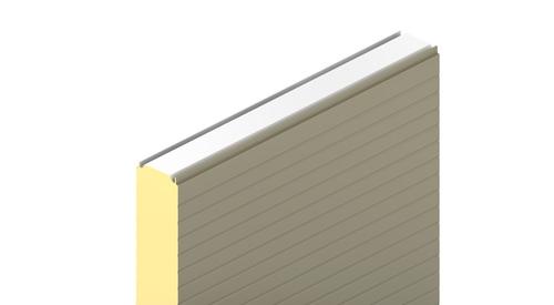 KS1150 NF, KS1150 TF, box profil, stěnový panely, fasádní panely, zateplení fasády, izolační panel