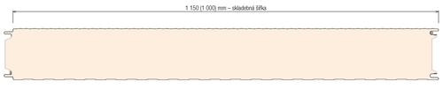 KS1150 NF rez panelom