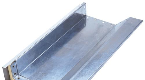 Originální příslušenství Kingspan, zateplené žlaby, odvodňovací okapní systémy