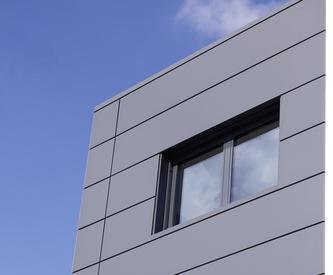 WWVT Aschheim, KS1000 AWP wall panels, BENCHMARK Rainscreen facade, BENCHMARK Suspended ventilated facade, Designwall Inspiration
