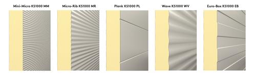 KS600 - 1000AWP Profiles