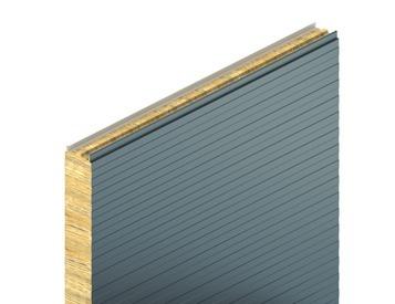 KS1150 FR, minibox profil, minerální vlna, stěnový panel