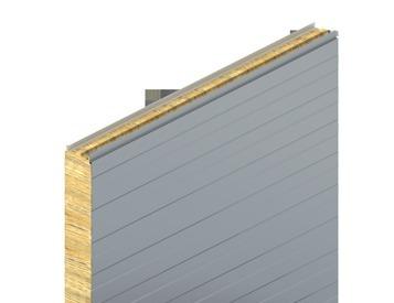 KS1150 FR, euro profil, minerální vlna, stěnový panel