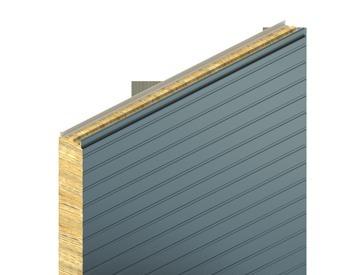 KS1150 FR, box profil, minerální vlna, stěnový panel
