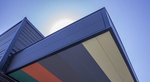 Designwall Air, Benchmark Kingspan, architektonické fasádní systémy