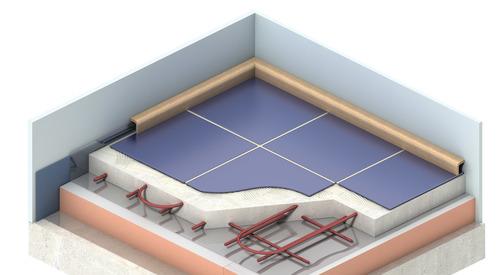 Application Kooltherm K3 Floorboard