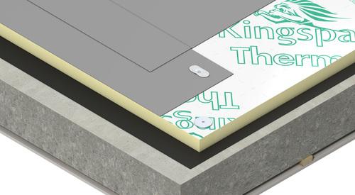 Construction concrete Therma TR26 FM Roof Board