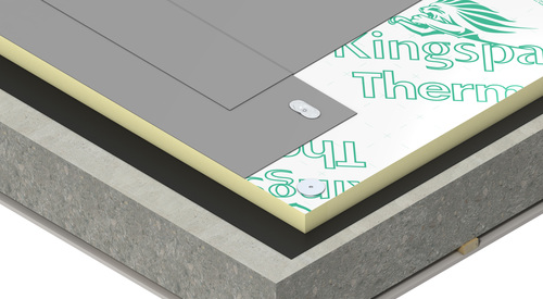 Construction concrete Therma TT46 FM Tapered Roof Board