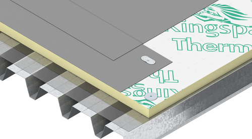 Construction steel Therma TT46 FM Tapered Roof Board