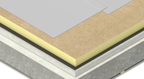 Construction concrete Therma TT47 FM Roof Board