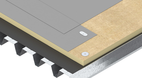 Construction steel Therma TT47 FM Roof Board