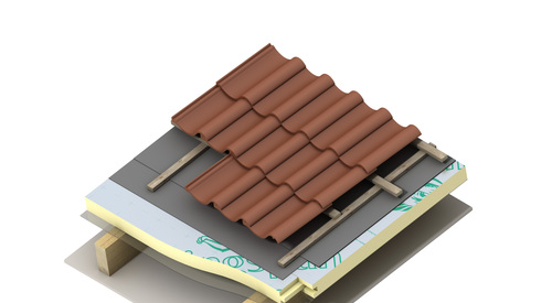 Application Therma TP10 Pitched Roof Board