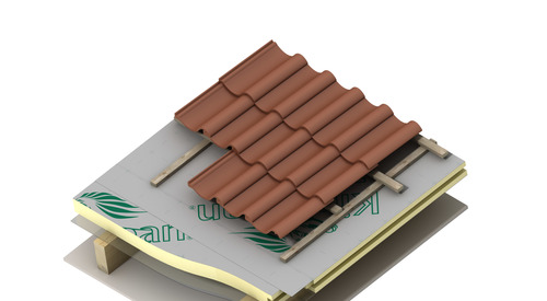 Application Therma TP11 Pitched Roof Board