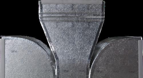 El Sistema Hidro de Kingspan es versátil y puede ser utilizado y fabricado para todas las secciones de ductos HVAC