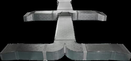 El Sistema Fenólico Kingspan PalDuct es versátil y puede ser utilizado y fabricado para todas las secciones de ductos HVAC