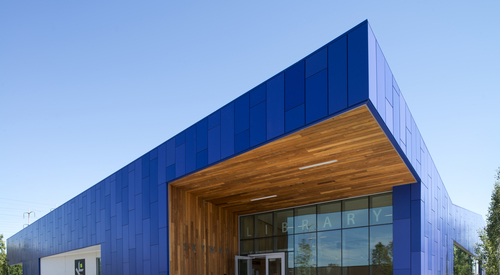 Kingspan Architectural Facades Systems Blue Buildings Image