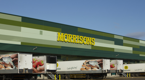 Kingspan Insulated Panel Systems MORRISONS DISTRIBUTION CENTRE BRIDGWATER UK Image