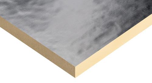 Kingspan Thermaroof TR26 LPC / FM esta cubierto en ambos lados con una lámina compuesta.