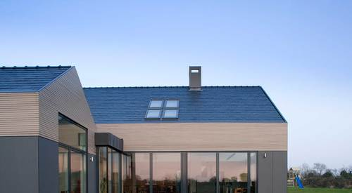 Private home exterior