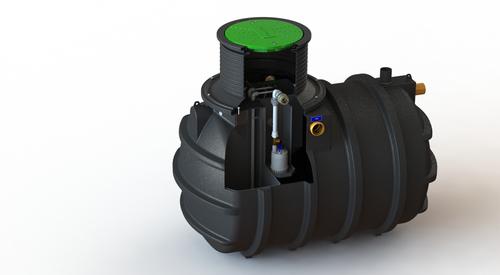 Klargester BioFicient+® Domestic Sewage Treatment Plant