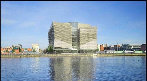 Convention Centre Dublin Night