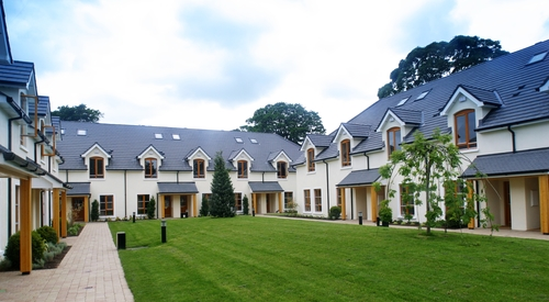 Leisure development with dormer roofs