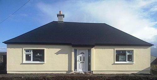 Retrofit external wall insulation - after
