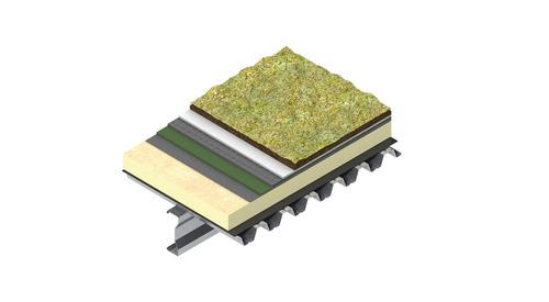 TR27 Green Roof Metal Deck