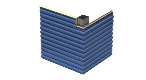 Designwall R Series Transverse Bent Corner