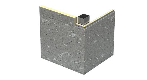 KS Granitstone Quartz Outside Corner