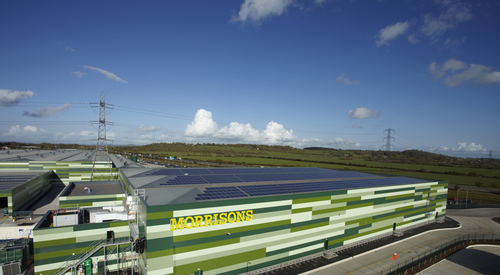 Kingspan Insulated Panel Systems MORRISONS DISTRIBUTION CENTRE BRIDGWATER UK Image 4
