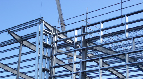 Kingspan Structural Steel Solutions Multibeam Project - ADAM SMITH COLLEGE UK Image