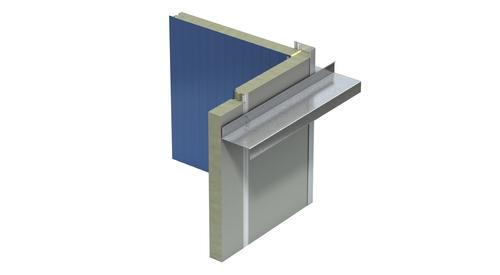 MF QT Acoustical Inside Corner Flat Trim