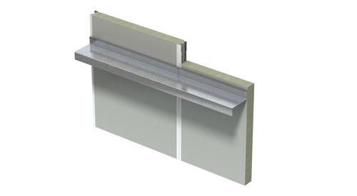 MF QT Acoustical Vertical Intermediate Support